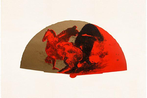 """Abanico I"", 2008, 50 x 76 cm."