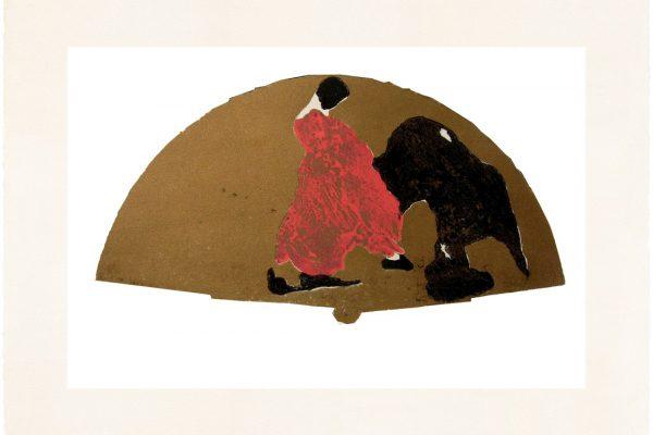 """""""Abanico VII"""", 2008, 50 x 76 cm."""