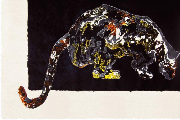 """""""Acecho"""", 2007, 74 x 120 cm. COLECCIÓN PARTICULAR."""