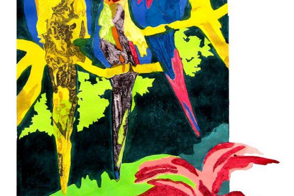 """""""Amazonia"""", 2007, 119 x 74 cm."""
