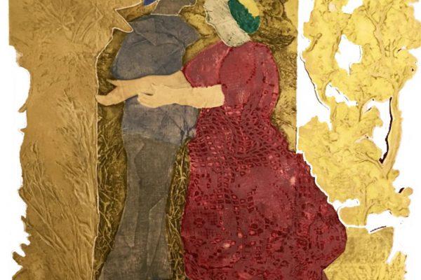 """Alegría"", 2004, 76 x 56 cm."