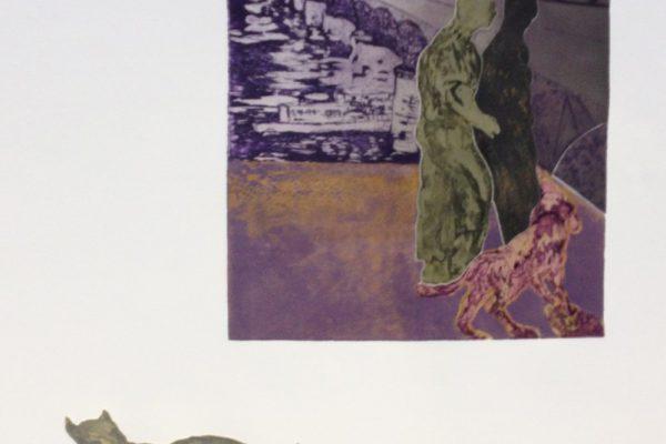 """Amistad"", 1994, 76 x 56 cm."