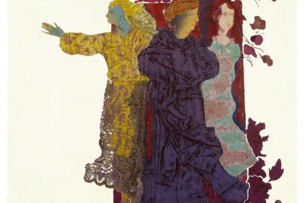 """Bienvenida"",1999, 80 x 60 cm."