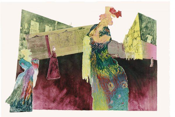 """""""Casa Paco"""",  1997, 65 x 101 cm."""