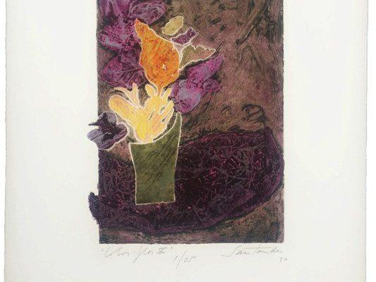 """""""Color-flor V"""", 1996, 56 x 38 cm."""