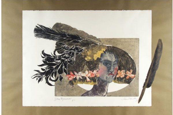 """""""Dña. Mariana"""", 1988, 56 x 76 cm."""