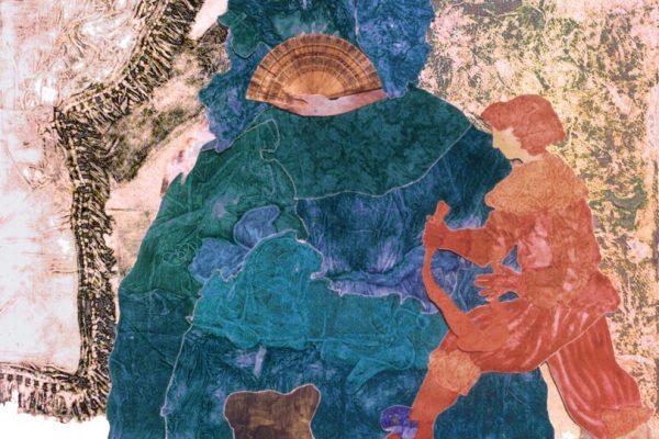 """""""El abanico"""", 2003, 255 x 198 cm."""