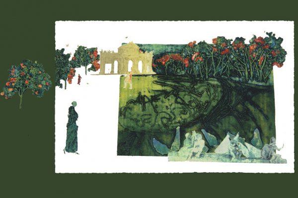 """""""Emblema"""", 2000, 80 x 147 cm."""