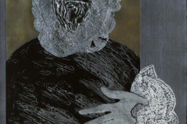 """""""Fidalgo azul"""", 1988, 66,5 x 50 cm. COLECCIÓN PARTICULAR."""