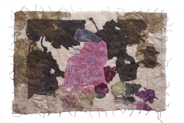 """""""La pequeña frutera"""", 2004, 50 x 74 cm."""