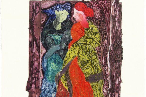 """""""Las hadas"""", 1999, 80 x 60 cm."""