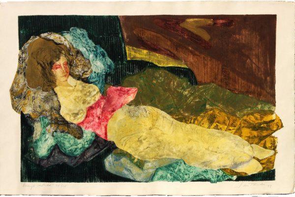 """""""Maja vestida"""", 1994, 80 x 120 cm."""