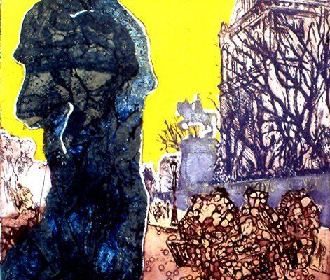 """""""Mi camino"""", 1994, 56 x 76 cm."""