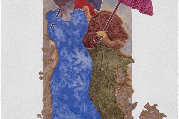 """""""No me olvides"""", 1999, 56 x 76 cm."""