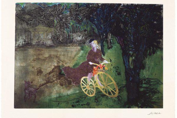 """""""Parque del Retiro"""", 1999, 80 x 120 cm."""