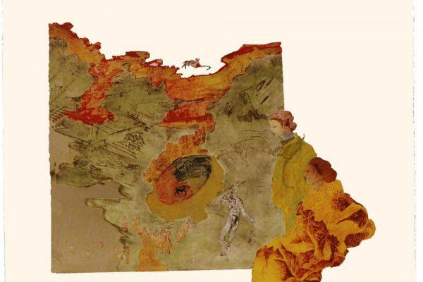 """""""Plaza de toros"""", 1997, 75  x 105 cm."""