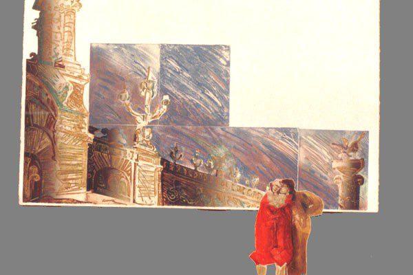 """""""Pont Alexandre III"""", 1995, 94 x 120 cm."""