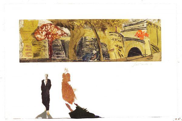 """""""Pont Neuf"""", 1995, 80 x 120 cm."""
