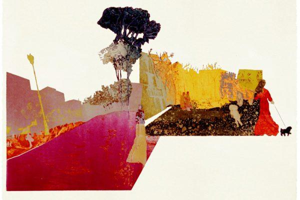 """""""Serrano antiguo"""", 2000, 75 x 105 cm."""