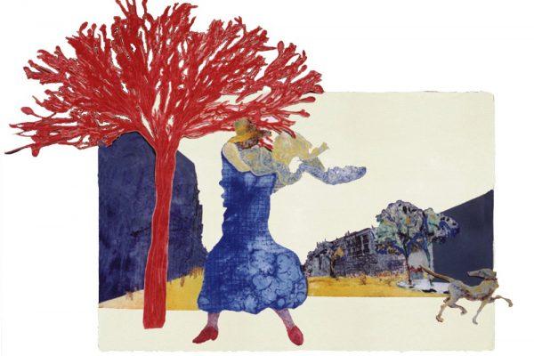 """""""Tirso de Molina"""", 2001, 117 x 165 cm."""