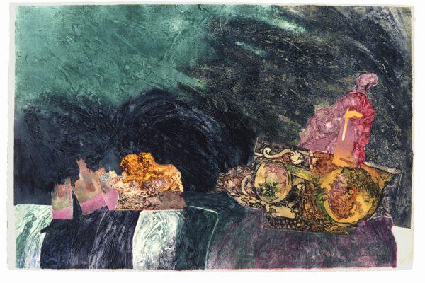 """Cibeles"", 1997, 80 x 120 cm."