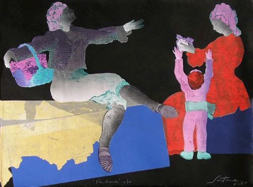 """Vendimia"", 2005, 56,5 x 76,5 cm."