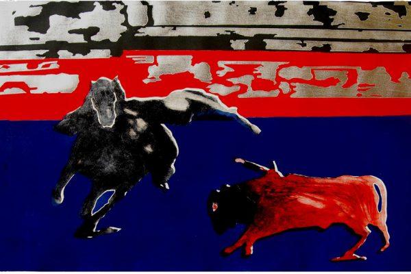 """Fiesta"", 2008, 70 x 106,5 cm."