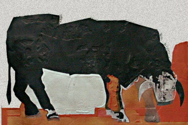 """Minotauro"", 2008, 105 x 119 cm."