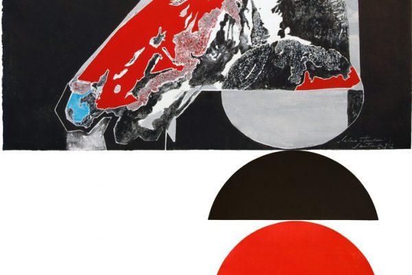 """""""Selene Atardecer"""", 2009, 135,4 x 80 cm."""