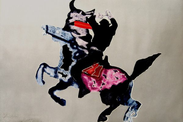 """Simbiosis"", 2008, 78,5 x 119 cm."