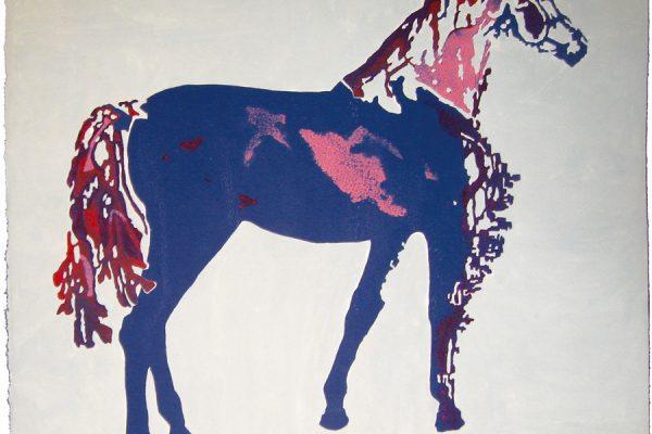 """Vuelta"", 2009, 80 x 84,5 cm."