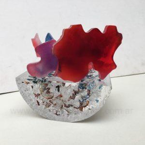 Fulgor rojo y violeta II