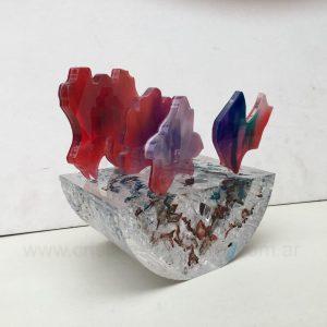 Fulgor rojo y violeta III