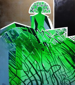 Menina Siglo XXI verde